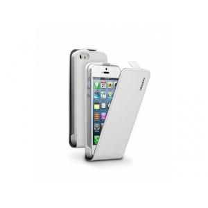 Чехол для мобильного телефона Deppa Flip Cover для iPhone5/5S white