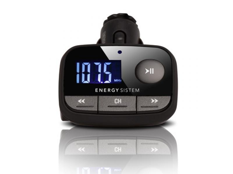 FM модулятор Energy Sistem F2 Knigth Black