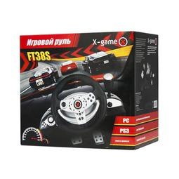 Руль и педали X-Game FT38S Black/Gray