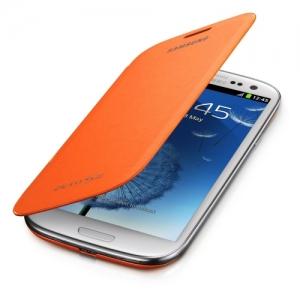Чехол для мобильного телефона Samsung Flip Cover (EFC-1G6FOECSER) Orange