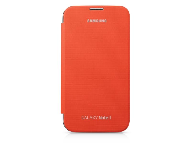 Чехол для мобильного телефона Samsung Flip Cover EFC-1J9FOEGSER Orange