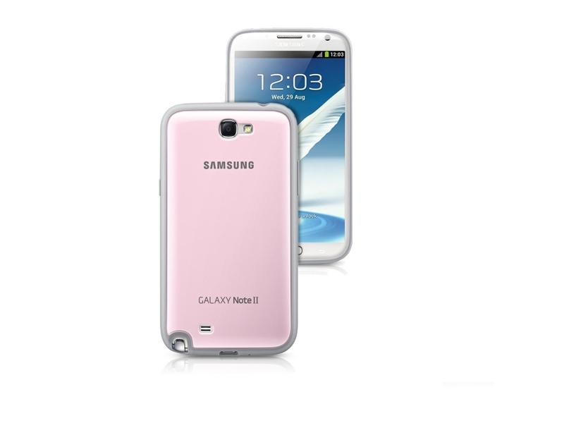 Чехол для мобильного телефона Samsung Protective Cover (EFC-1J9BPEGSTD) Pink