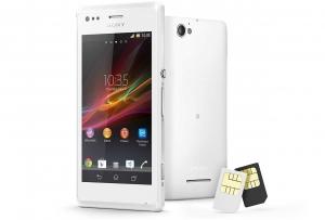 Смартфон Sony Xperia M dual White