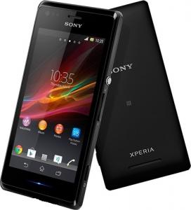 Смартфон Sony Xperia M C1905 Black
