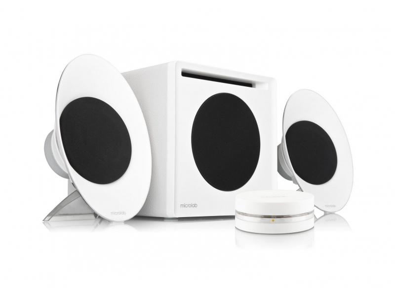 Звуковые колонки Microlab FC-50 White