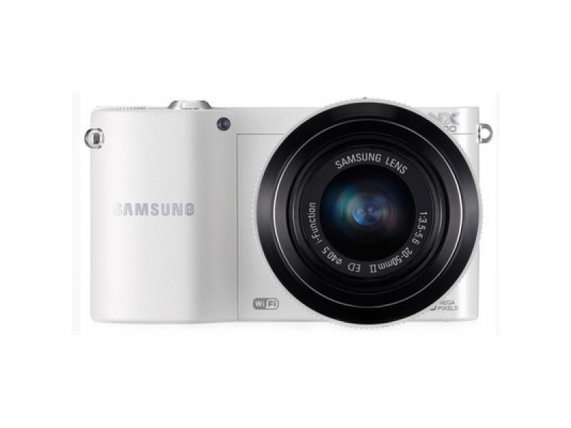 Цифровой фотоаппарат Samsung EV-NX1100BFWKZ White