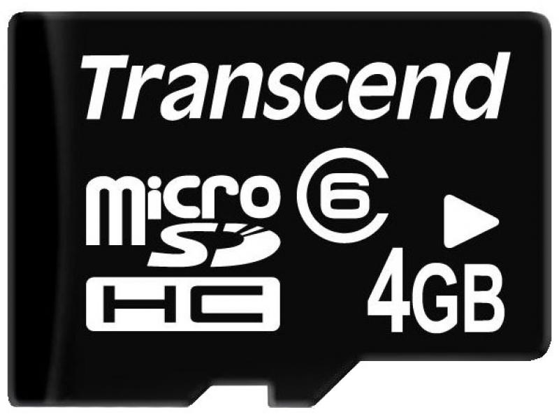 Карта памяти Transcend TS4GUSDC6