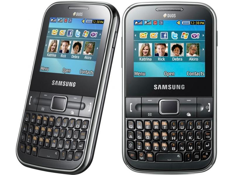 Смартфон Samsung GT-C3222LKASKZ