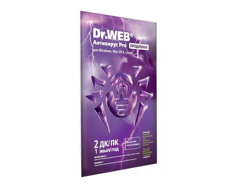 Антивирус Dr.WEB Pro (продление на 12 месяцев)
