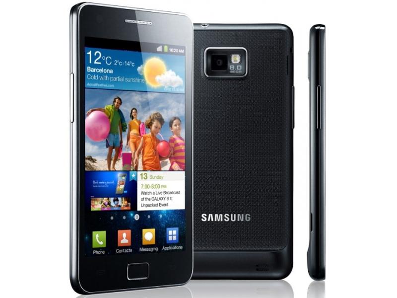 Смартфон Samsung Galaxy S II GT-I9100LKASKZ