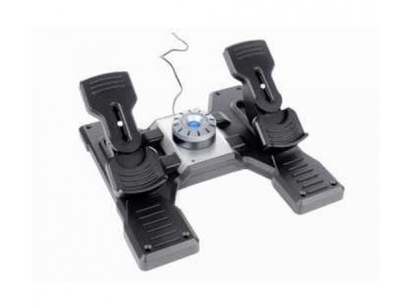 Педали для авиасимуляторов Saitek PZ35 Pro Flight Rubber