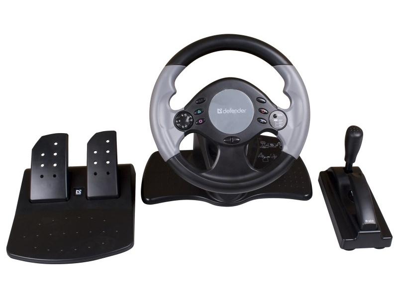 Руль и педали Defender Extreme Turbo Pro