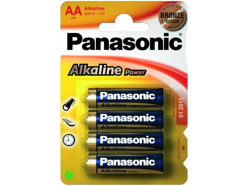 Элемент питания Panasonic Alkaline Power LR6APB/4BP