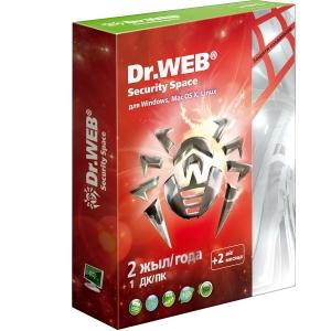 Антивирус Dr.WEB Security Space  Pro Silver (подписка на 24 месяца)