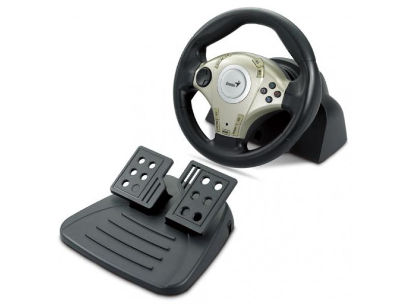 Руль и педали Genius Twin Wheel F1
