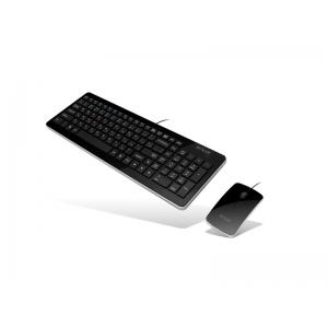 Клавиатура +Мышь Delux DLD-1525OUB Black