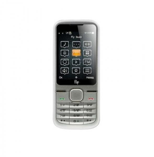 Мобильный телефон Fly DS123 Silver