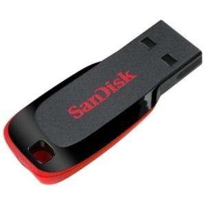 Флэшка Sandisk Cruzer Blade Black/Red