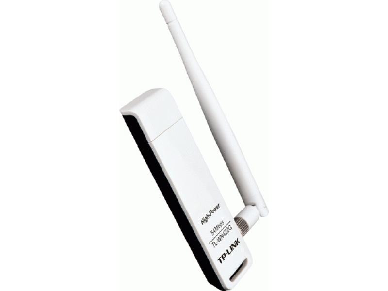 Беспроводной Wi-Fi адаптер TP-Link TL-WN422G 10/54