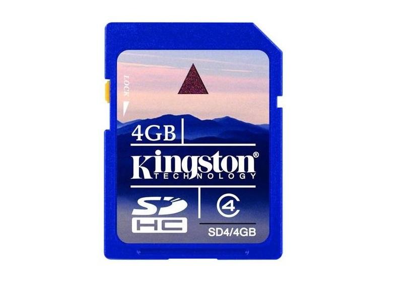 Карта памяти Kingston SD4/4GB