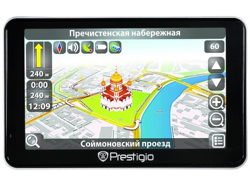 GPS навигатор Prestigio Geovision 5600