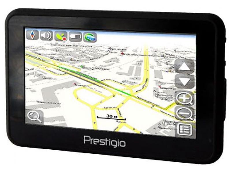 GPS навигатор Prestigio Geovision  4141BTFM