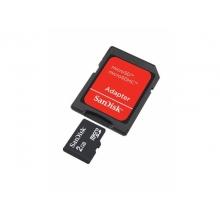 Карта памяти Sandisc SDSDQM-002G-B35A  + SD Adapter