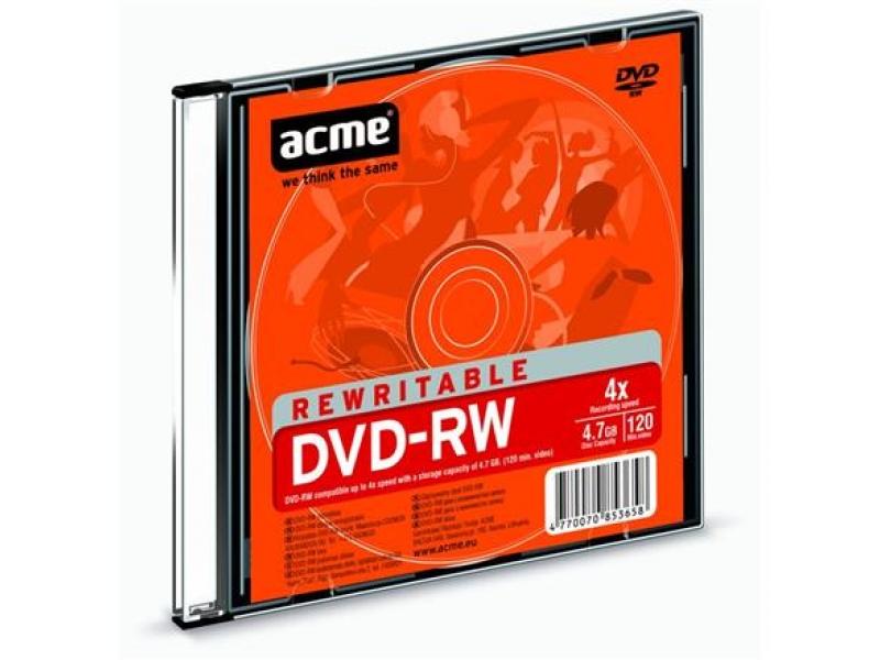 CD/DVD/BluRay диски Acme DVD-RW