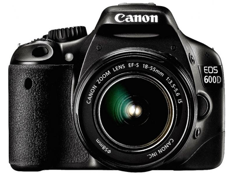 Зеркальный фотоаппарат Canon EOS 600D EF-S 18-55 Lens Kit Black