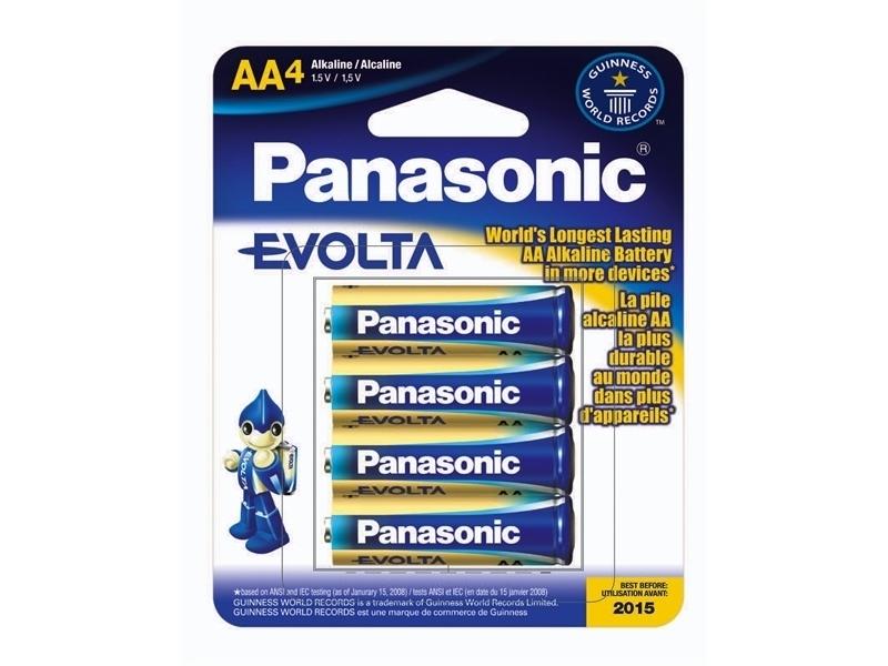 Элемент питания Panasonic EVOLTA  LR6EGE/4BP