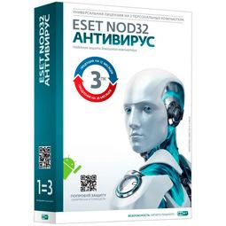 Антивирус NOD32 NOD32-ENA-1220 (подписка на 1 год на 3пк, или продление на 20 месяцев )