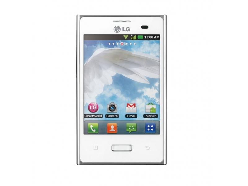 Смартфон LG Optimus L3 E400 White