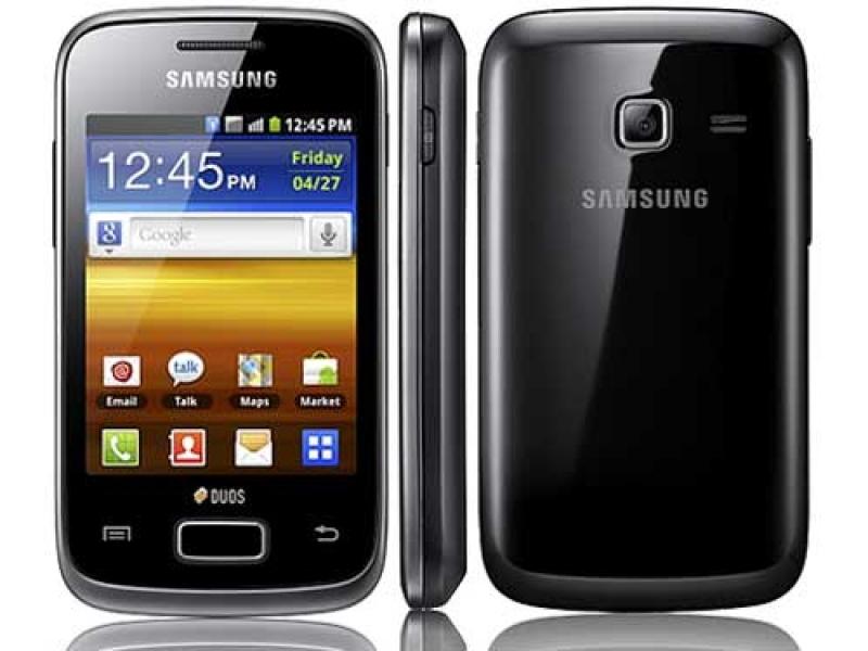 Смартфон Samsung Galaxy Y Duos GT-S6102TKASKZ