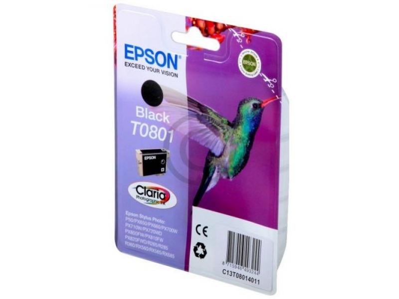 Картридж Epson C13T08014011 Black
