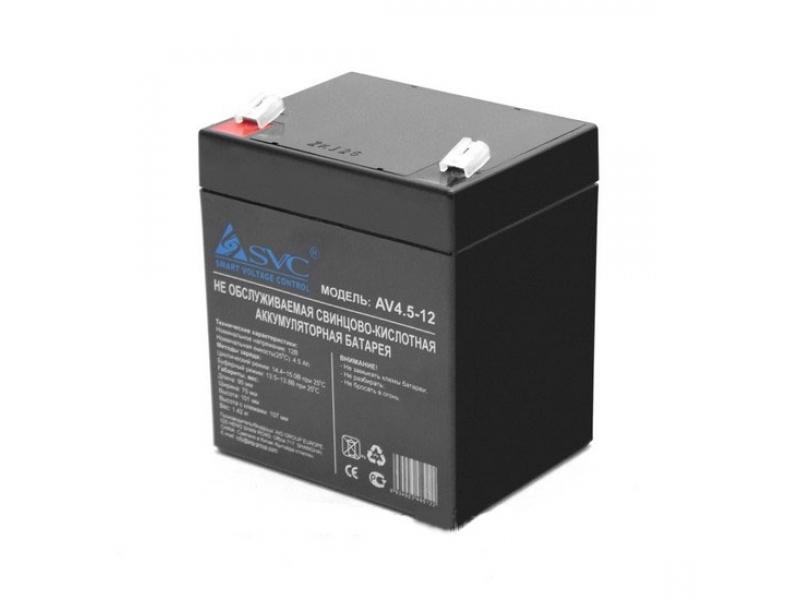 Батерии для ИБП SVC 12V 4.5 A/h