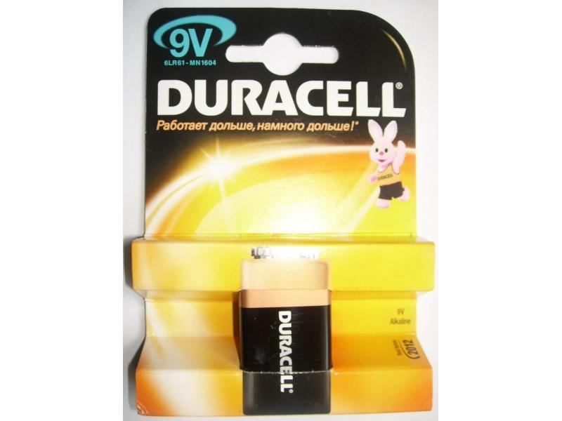 Элемент питания Duracell 6LR61/MN1604