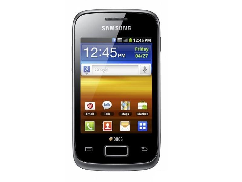Смартфон Samsung Galaxy Y Duos (GT-S6102SKASKZ) Black