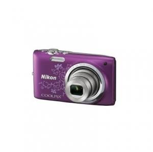 Цифровой фотоаппарат Nikon Coolpix L27 Violet Lineart