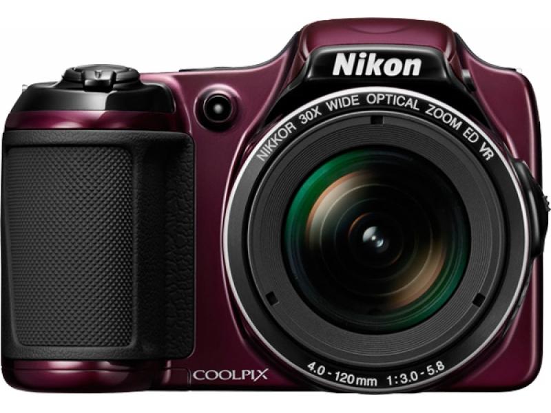 Цифровой фотоаппарат Nikon Coolpix L820 Plum