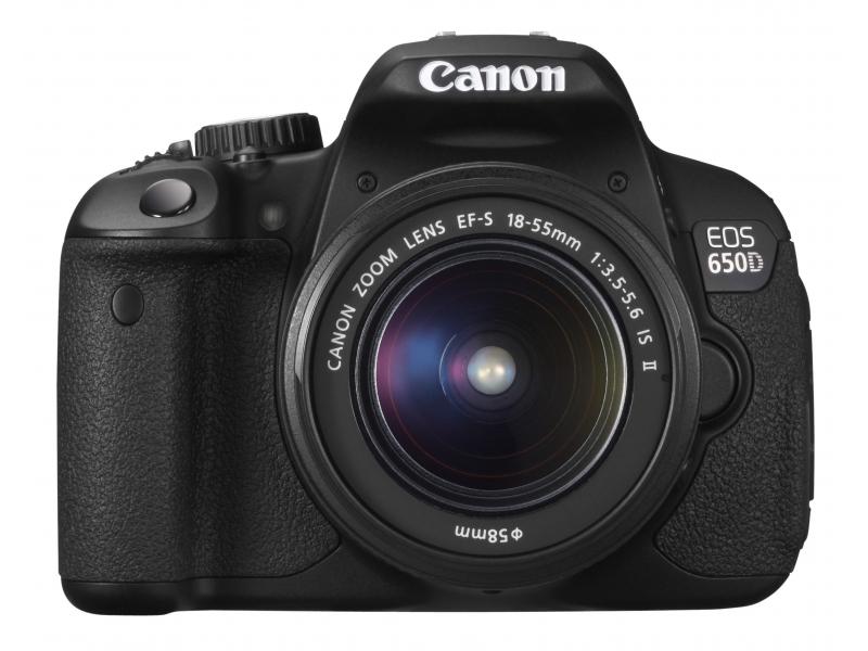 Зеркальный фотоаппарат Canon EOS 650D EF-S 18-55 III Black