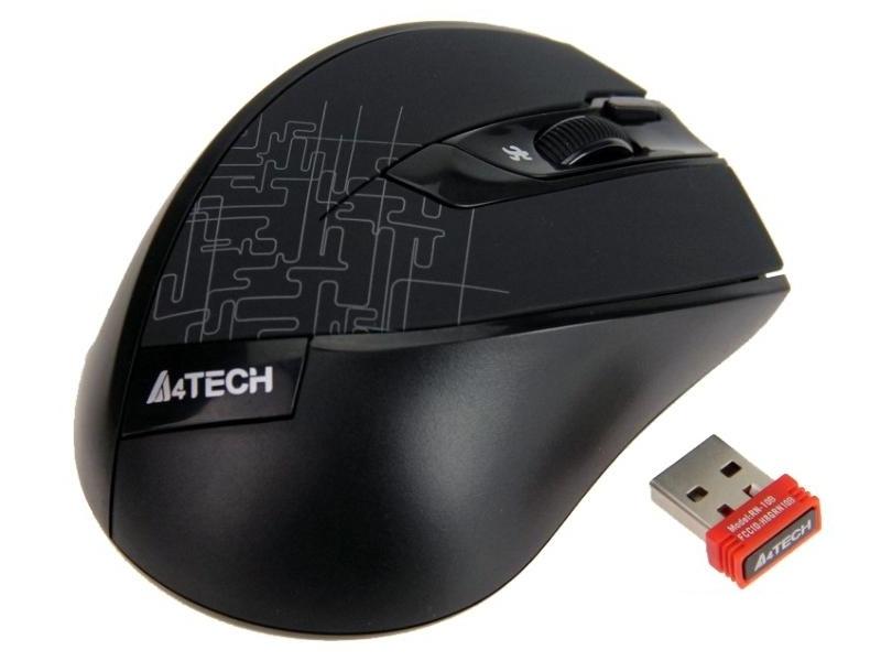 Мышь A4tech G9-600FX-1 Black