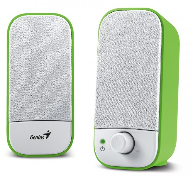Звуковые колонки Genius SP-A110 (31731040102) Green