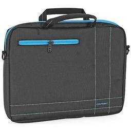 Сумка для ноутбука Continent CC-201GB Grey/Blue