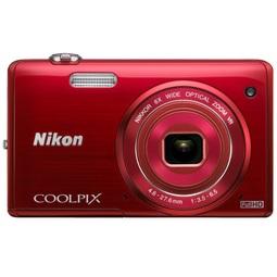 Цифровой фотоаппарат Nikon Coolpix S5200 Red+Чехол