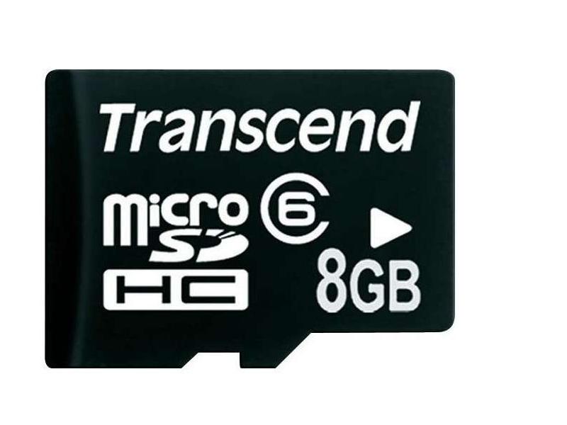 Карта памяти Transcend Micro 8GB (TS8GUSDC6)