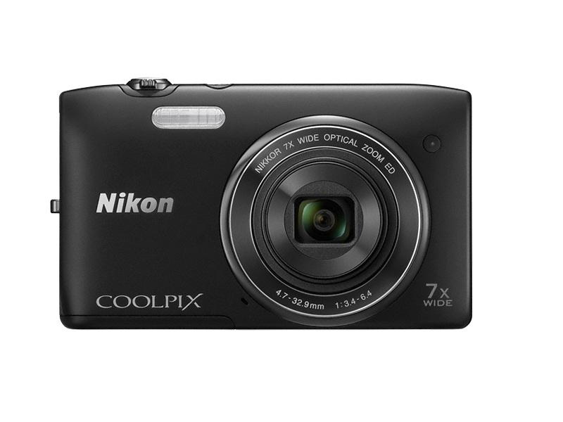 Цифровой фотоаппарат Nikon Coolpix S3400 Black