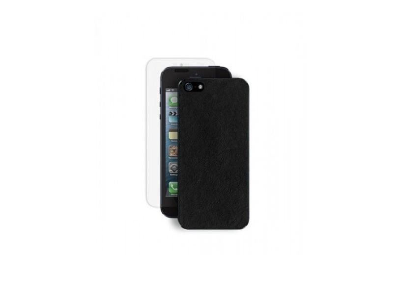 Чехол для мобильного телефона Deppa Rich +Защитная Пленка (IPhone 5) Black