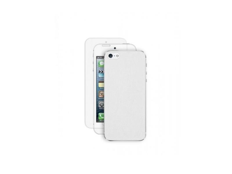 Чехол для мобильного телефона Deppa Rich +Защитная Пленка (IPhone 5) White