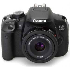 Зеркальный фотоаппарат Canon Eos 650D EF 40 STM Lens Kit Black