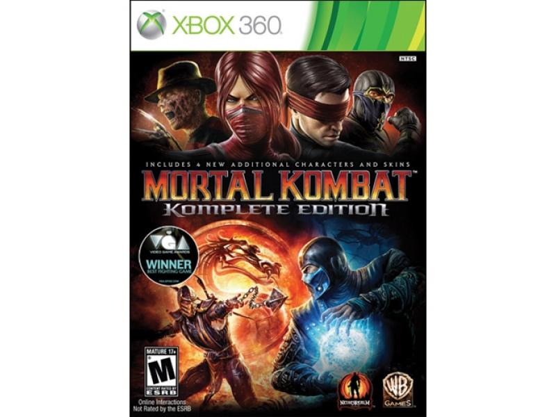 Видеоигра для консоли Mortal Kombat Komplete Edition